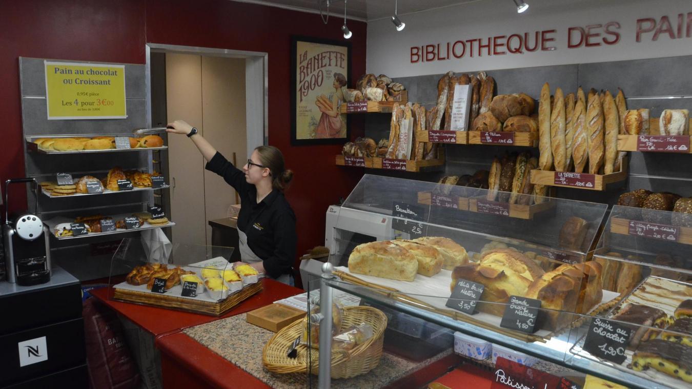 Après l'incendie de lundi, le 23 septembre, la boulangerie Maison Musial rue Faidherbe a déjà rouvert ses portes.