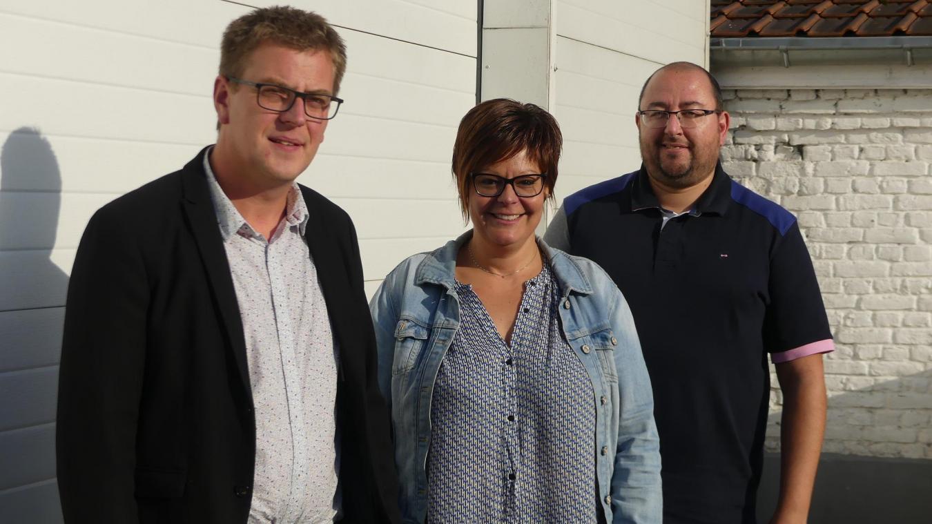 Benjamin Bollengier, Caroline Lefebvre et Freddy Ropital veulent développer leurs business.