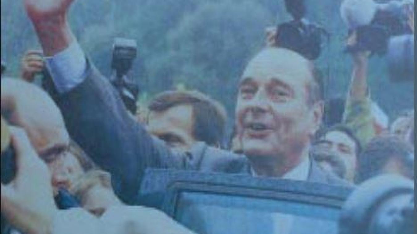Jacques Chirac est notamment venu à Béthune en 1981, et dans le Pas-de-Calais trois jours durant en 1996 (notre photo).