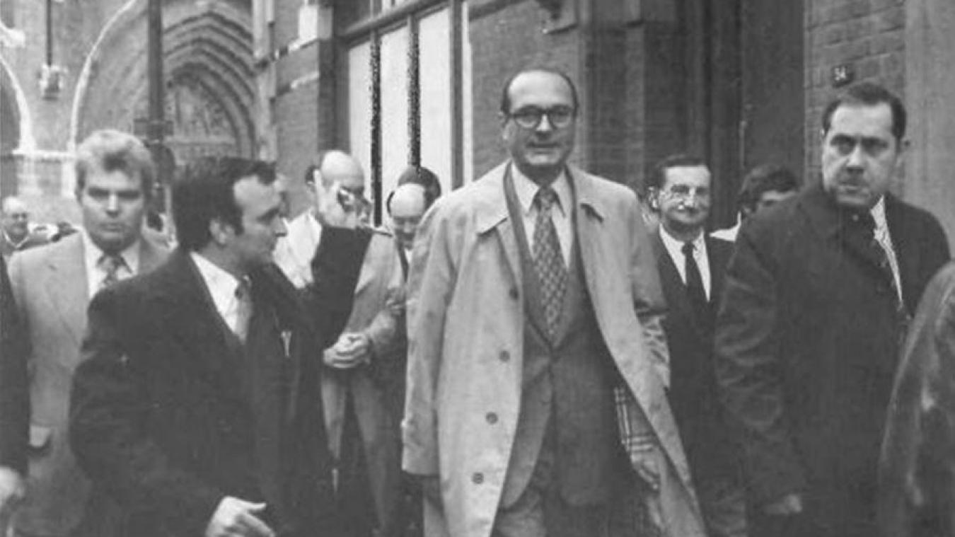 André Flajolet, maire de Saint-Venant : « J'ai fait partie des fondateurs du RPR avec lui »