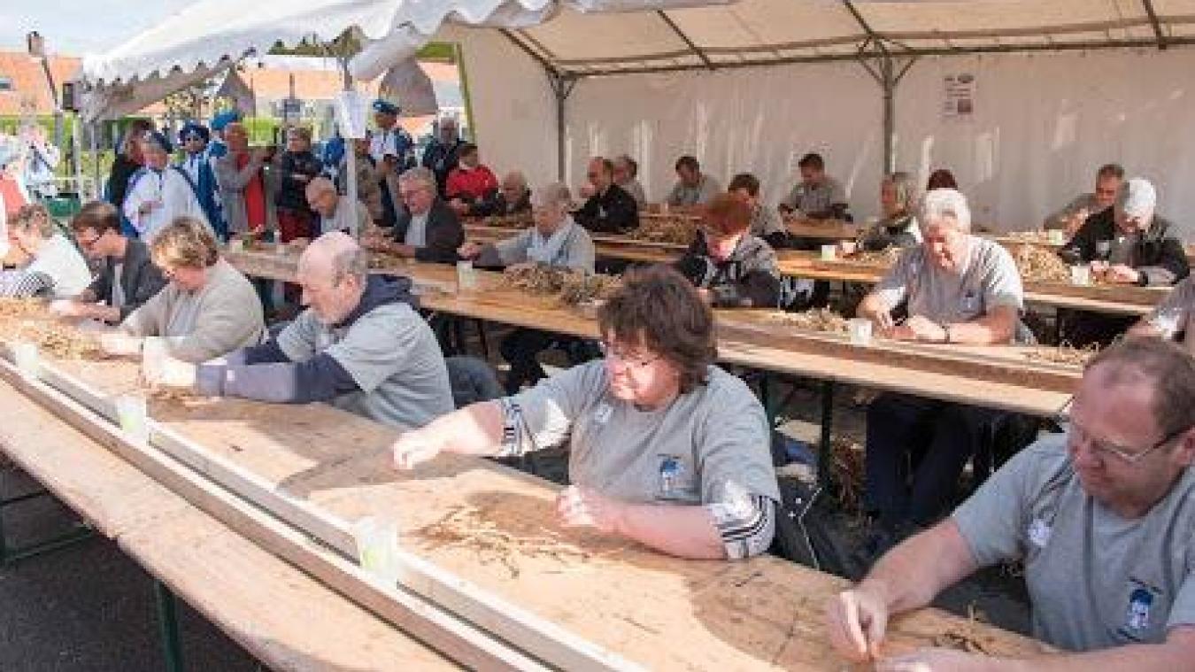 Cinquante participants tenteront de remporter le titre de champion d'écossage de haricot.