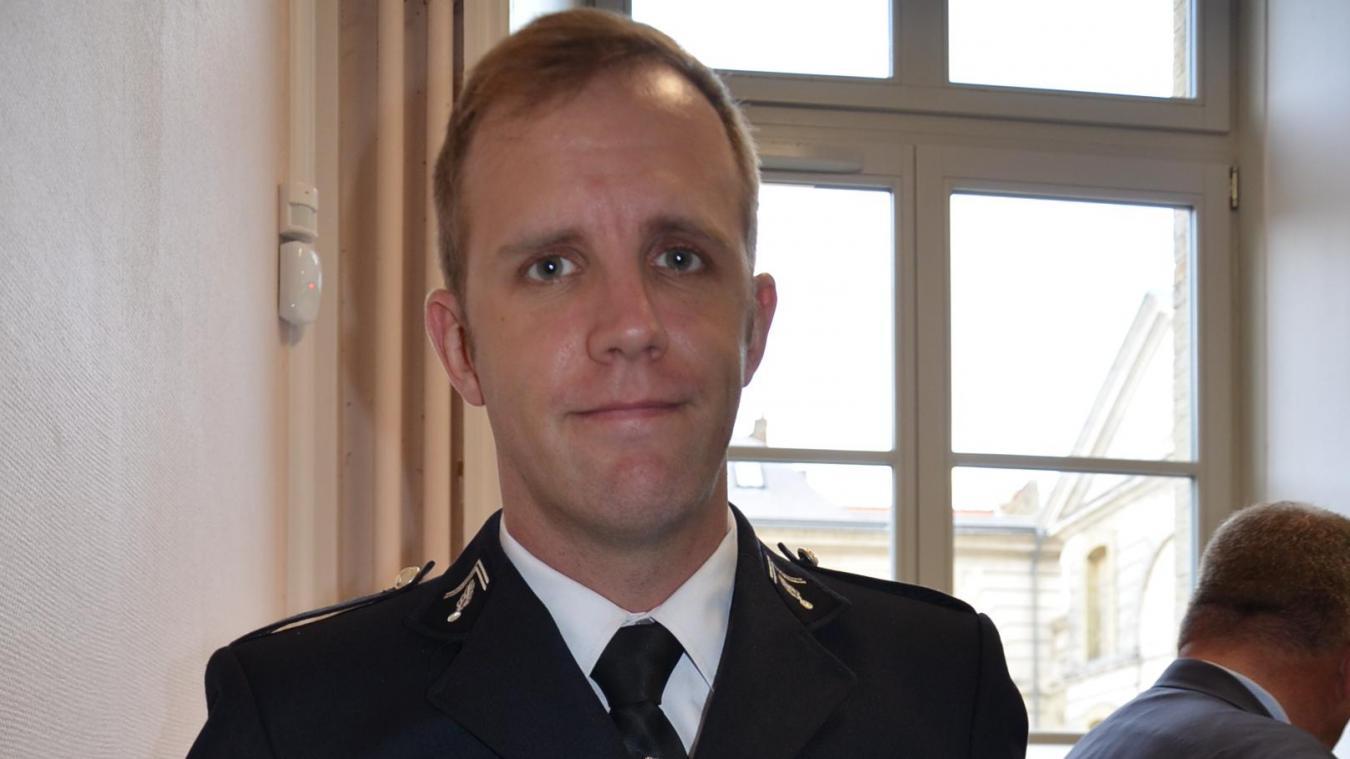 Le capitaine Dassance prend la tête de la compagnie de gendarmerie de Saint-Omer.