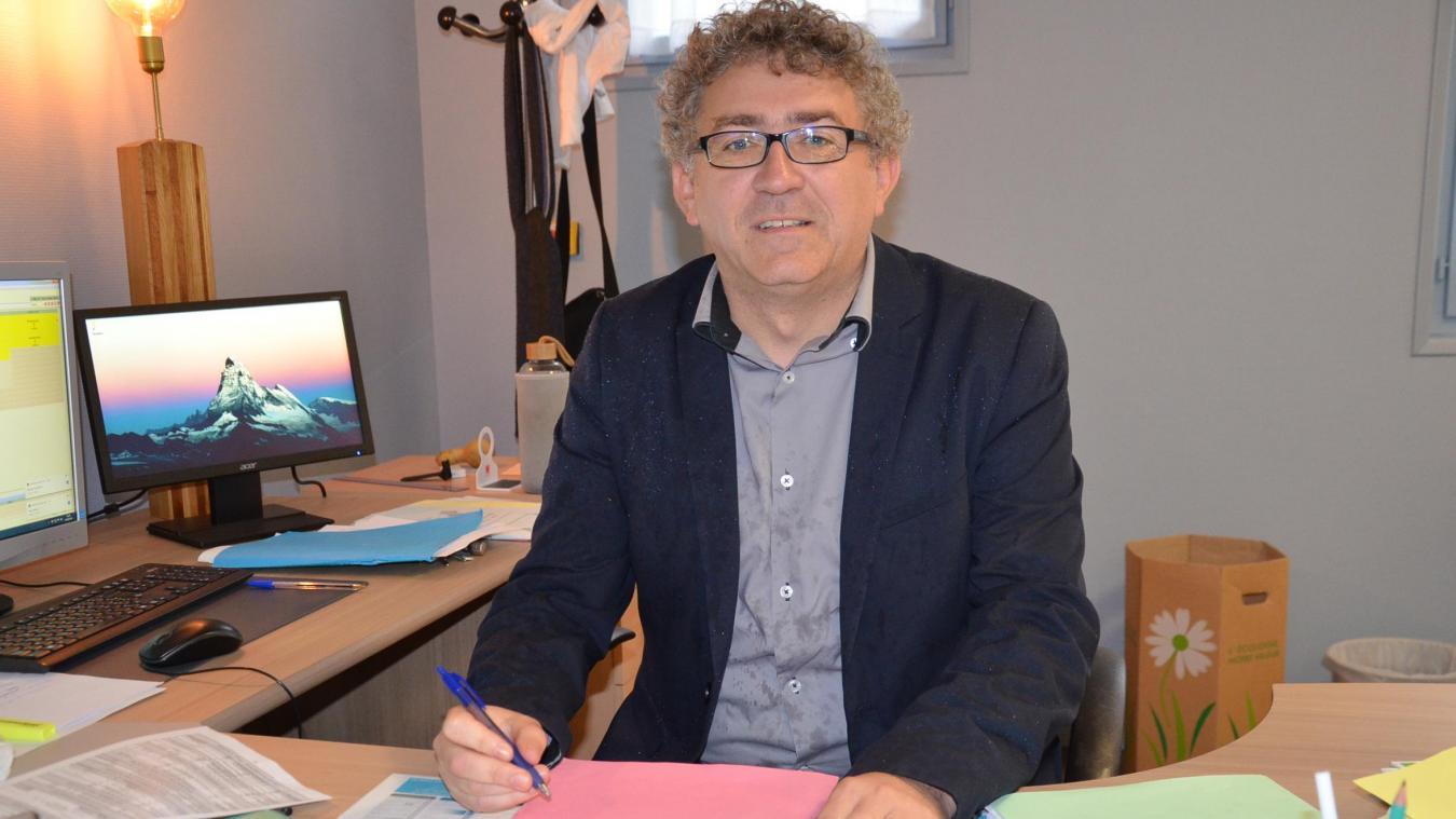 Richard Noël vit sa troisième rentrée à la tête du collège fauquemberguois.