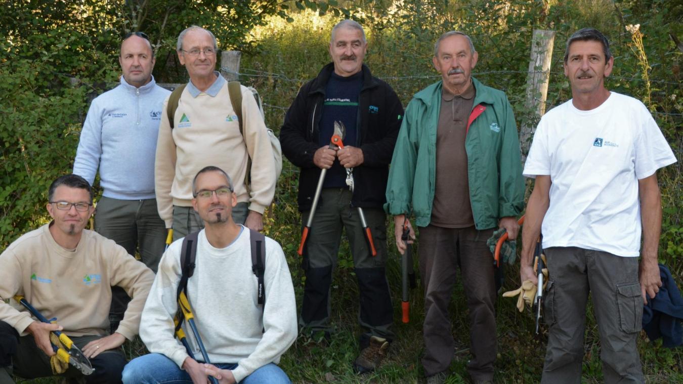 Les bénévoles de la LPO (Ligue de protection des oiseaux) sont intervenus dans la réserve naturelle gérée par Eden 62, samedi 21 septembre.
