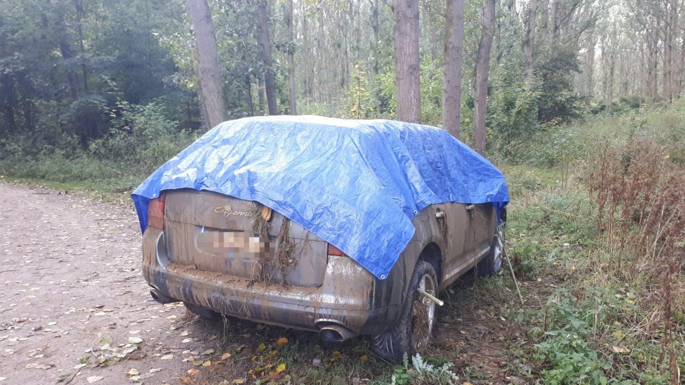 Le mystère du Porsche Cayenne au Bois des Forts est résolu
