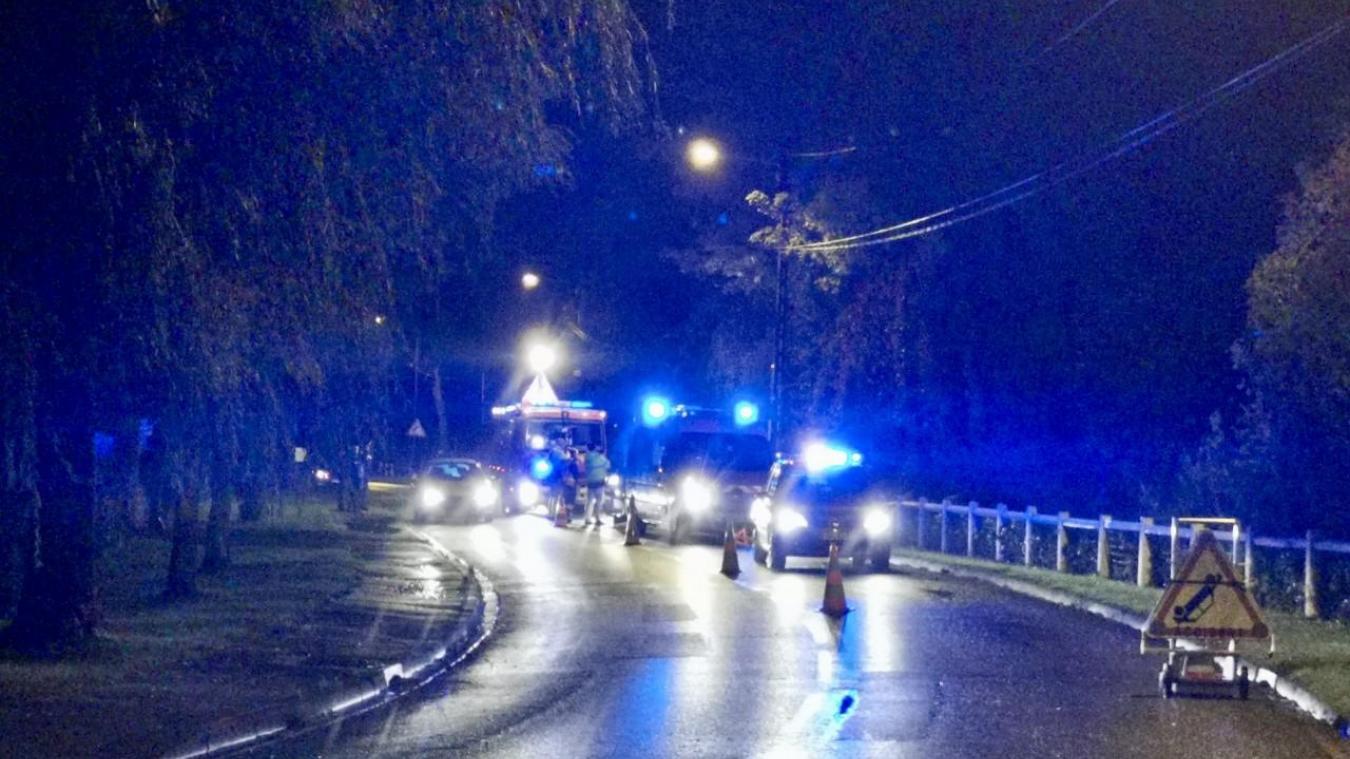 L'accident s'est produit avenue Van Der Meersch.