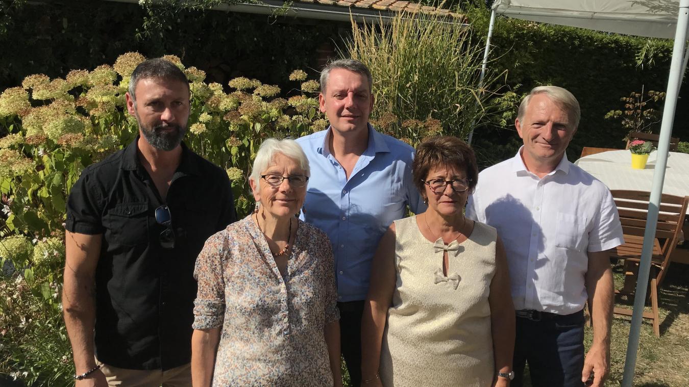Les élus d'Achicourt Autrement ont annoncé le lancement de leur campagne électorale, samedi 21 septembre.