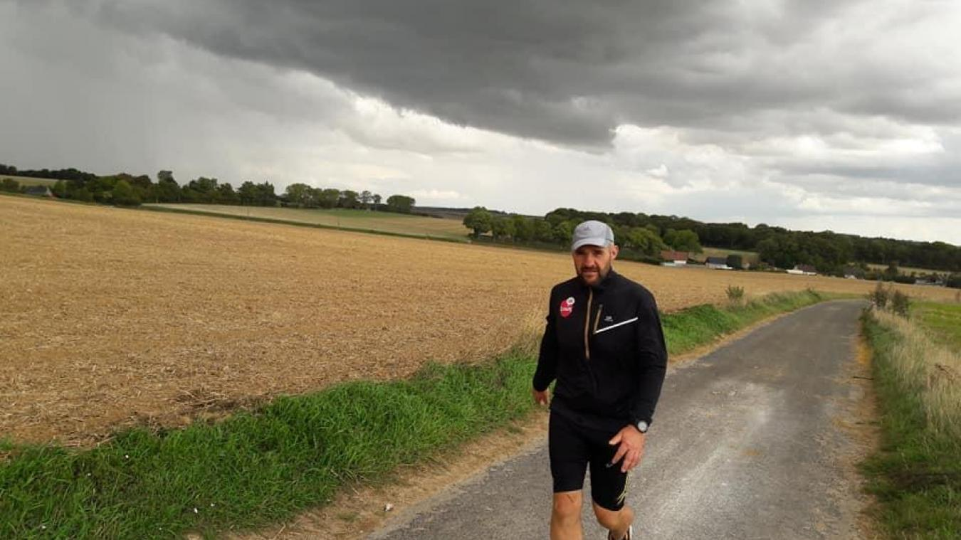 Bapaume : Freddy Petit aux 100km de Millau