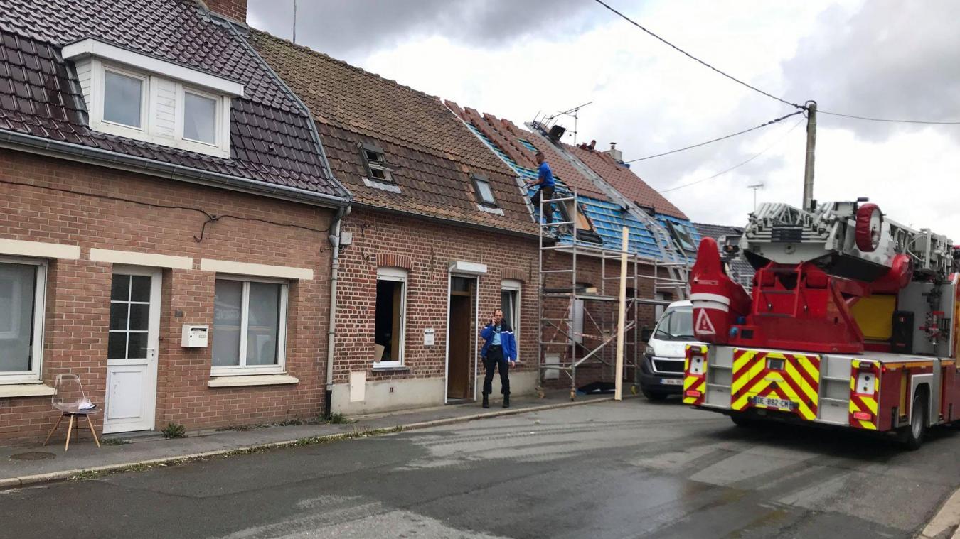 Les pompiers ont rapidement maîtrisé le feu de friteuse qui s'est déclaré au 27 de la rue Chieux, à Saint-Jans-Cappel.