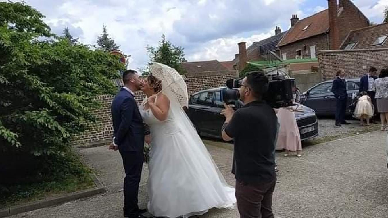 Bully-les-Mines : Émilie et Sébastien ont participé à 4 Mariages pour une lune de miel