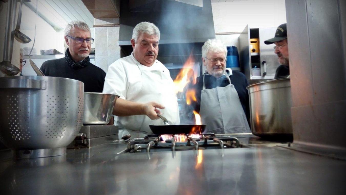Bernard Desnave était chef de cuisine à La Vieille Poutre, à Caëstre.