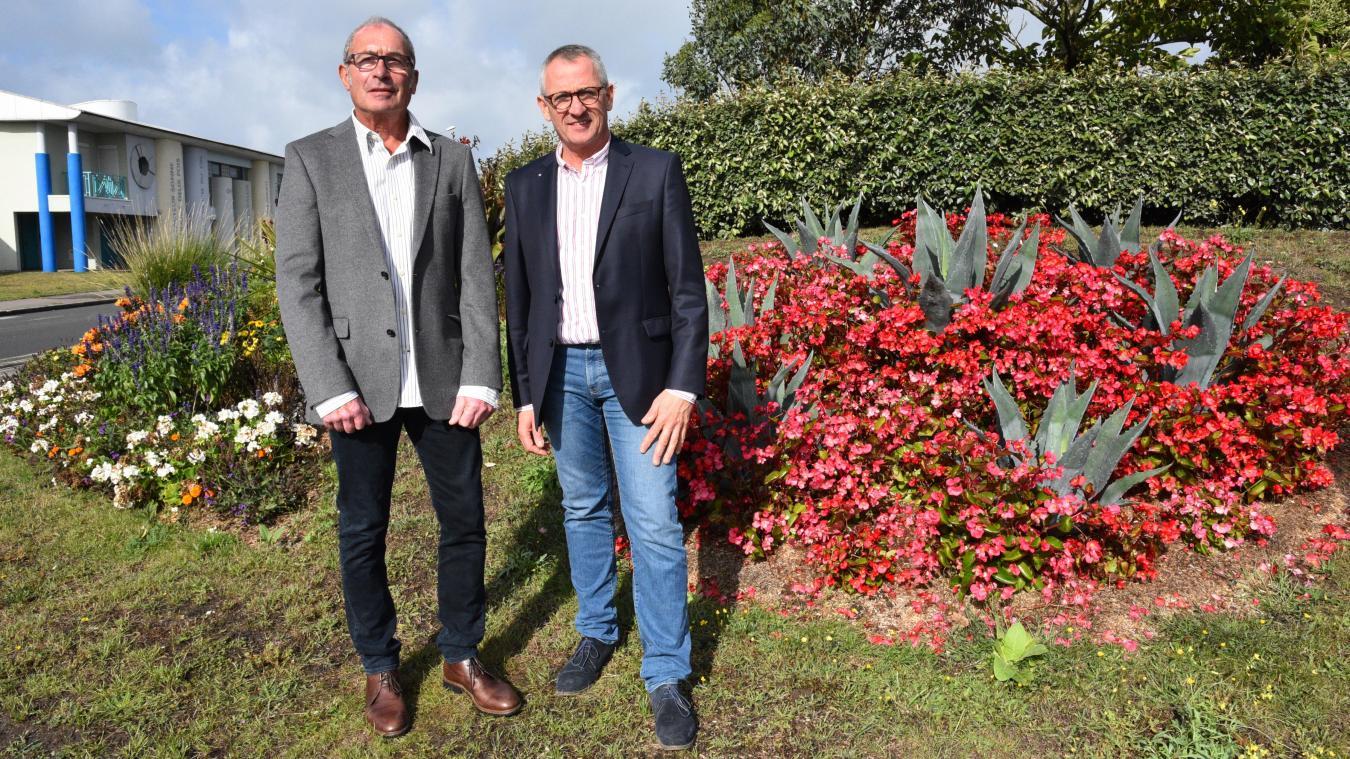 Guy Boutleux et Jean-Luc Dubaele ont décidé de se présenter ensemble pour les municipales.