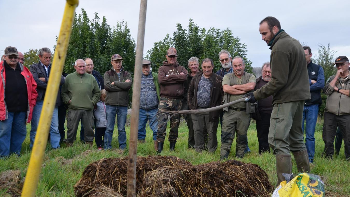La Fédération départementale de chasse anime régulièrement des formations aux quatre coins du Pas-de-Calais.
