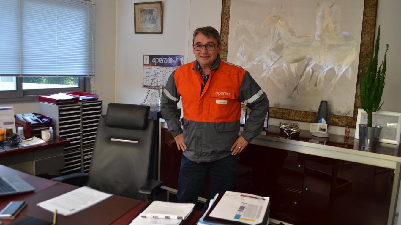 Gérard Grimbert, directeur du site isberguois d'Aperam, assure que les efforts demandés depuis le mois d'avril aux salariés, avec cinq jours de chômage partiel par mois en moyenne, permettront à l'entreprise de sortir de la crise plus forte.