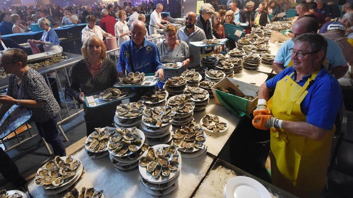 La Foire aux huîtres attend près de 20 000 personnes à sa 34 e  édition, les 4, 5 et 6 octobre au Kursaal de Dunkerque.