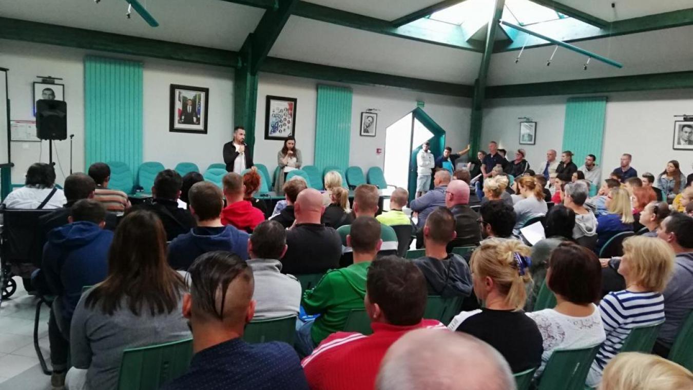 Samedi 18 septembre, plus de 200 personnes étaient présentes pour la première réunion de recrutements.
