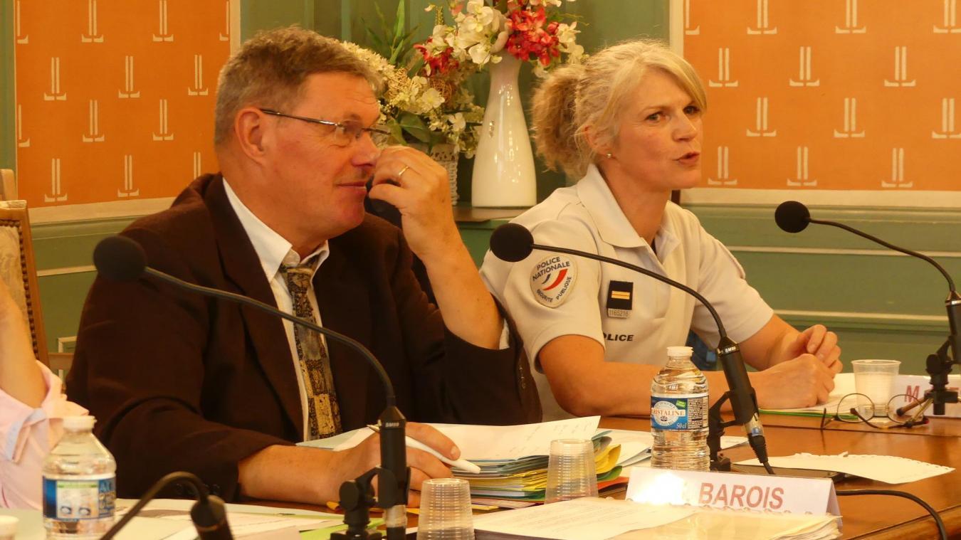 Séverine Joly a expliqué en préambule du conseil municipal le principe de la participation citoyenne.