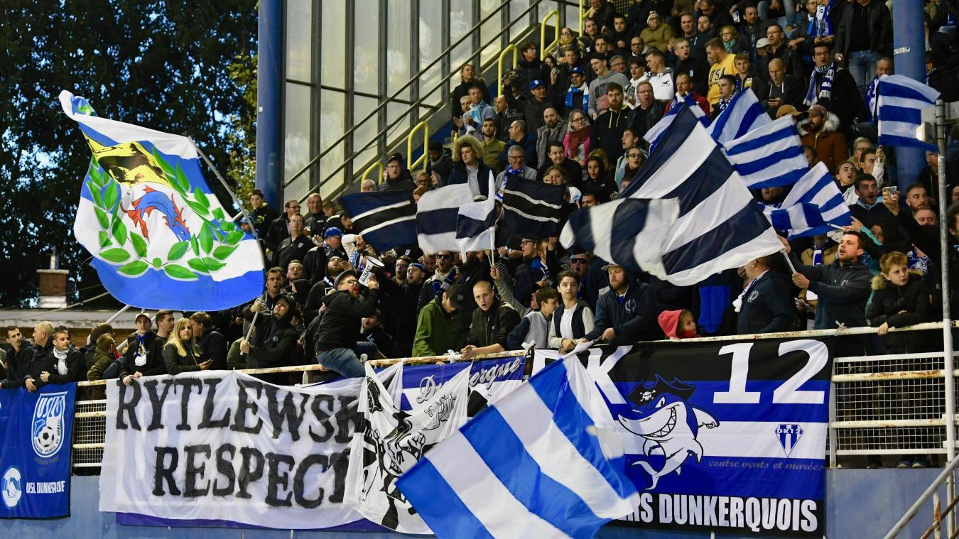 Les groupes de supporters des Maritimes pestent contre un horaire de match, à 18 h, jugé contre-productif. ©Jean-Louis Burnod