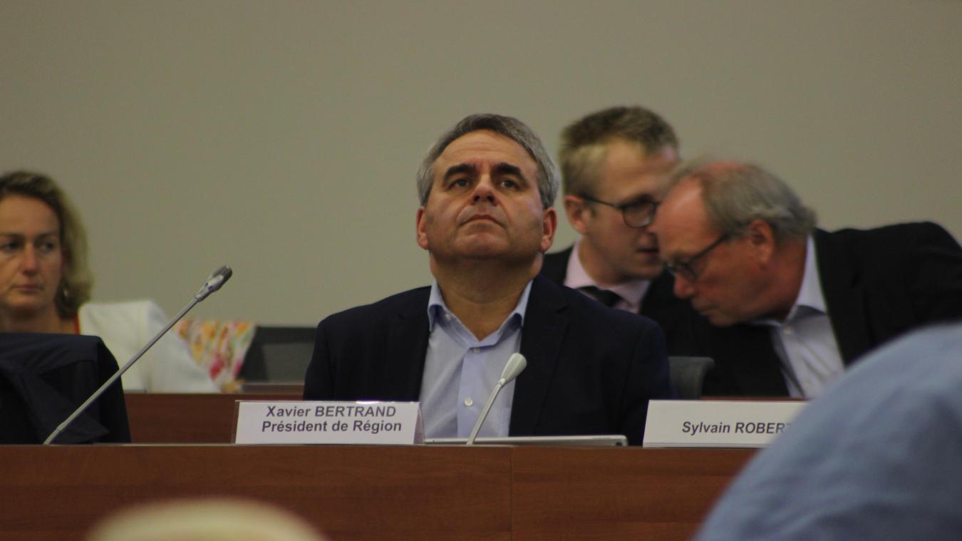 Le président de la Région était très direct et franc, jeudi 26 septembre lors du conseil de la Call.