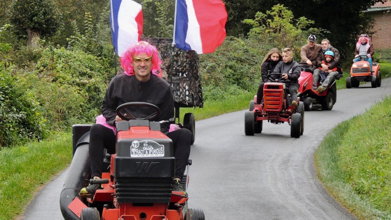 Escœuilles : Tract and Furious ce dimanche, une rando en tracteur-tondeuse