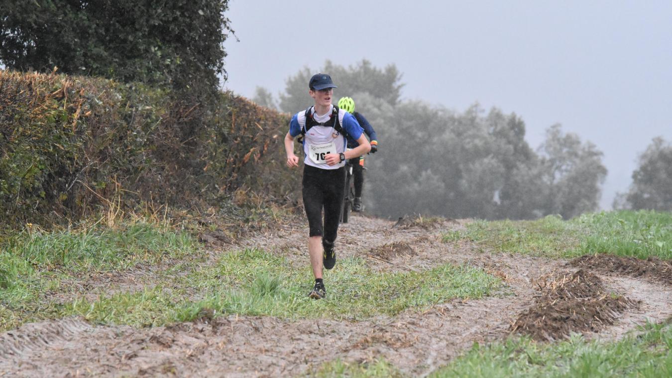 Près de 700 courageux ont bravé la pluie au Trail des 3 Monts