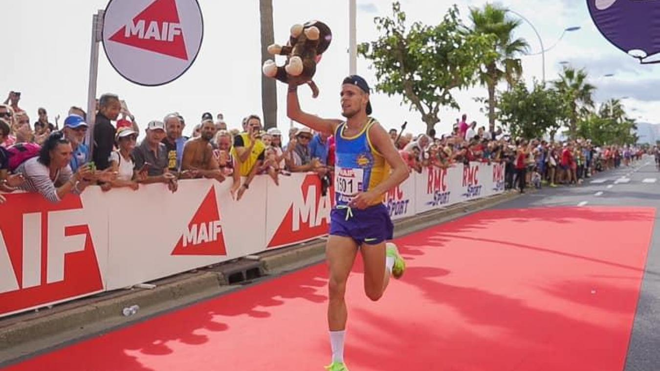 Jimmy Gressier, champion de France de 10 km