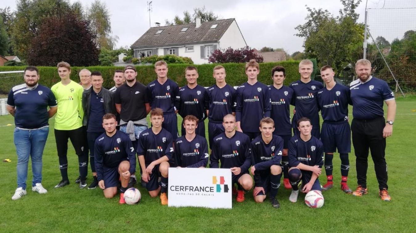 Les U19 de l'US Attin poursuivent l'aventure en coupe Gambardella.