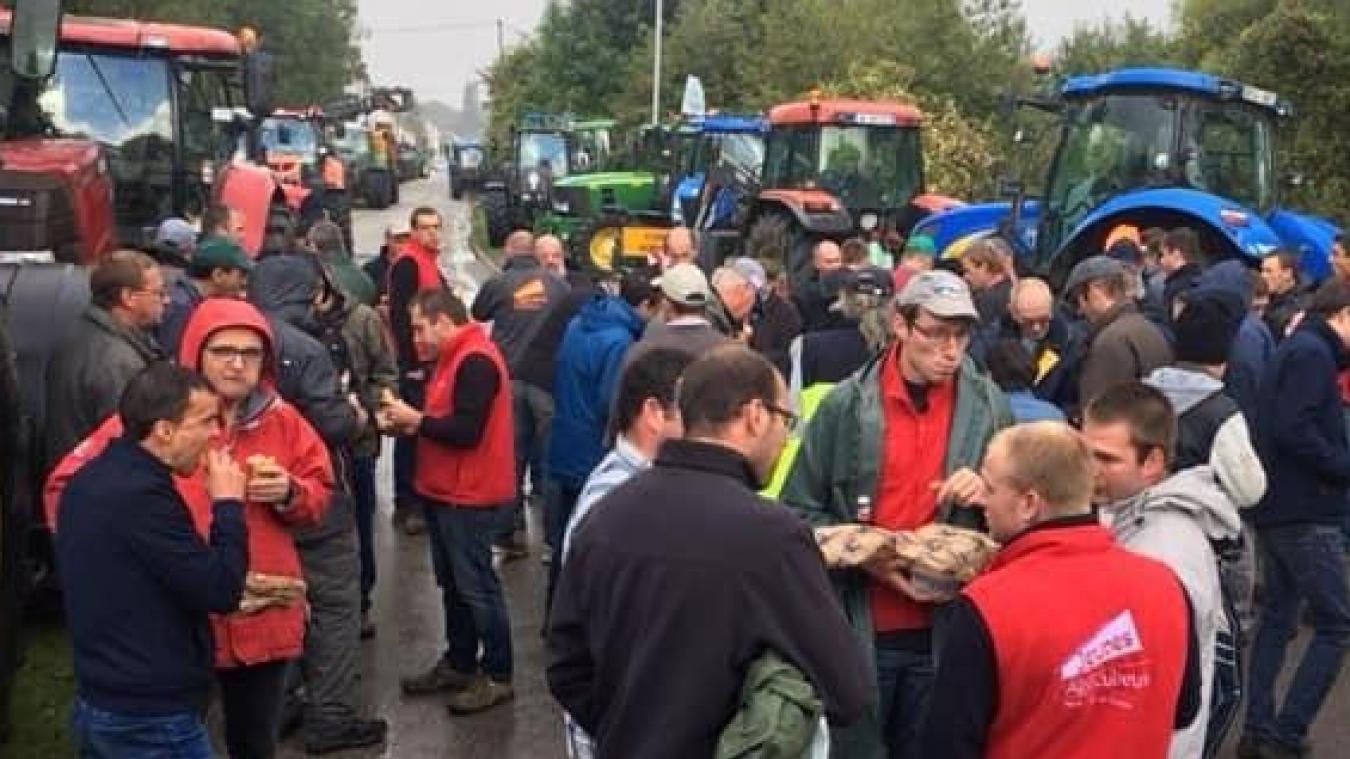 Les paysans bloqueront les routes ce mardi 8 octobre