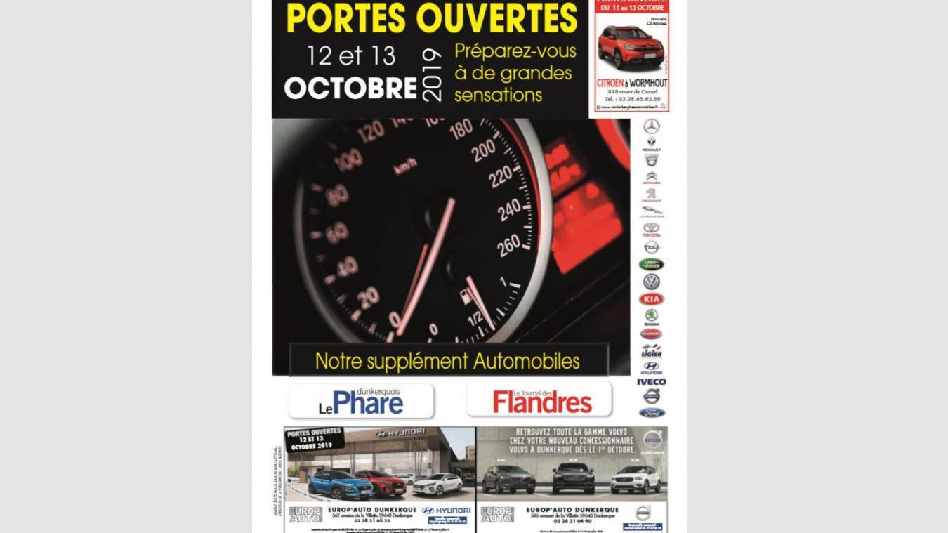 Notre supplément spécial portes ouvertes automobiles dans le Dunkerquois et en Flandre
