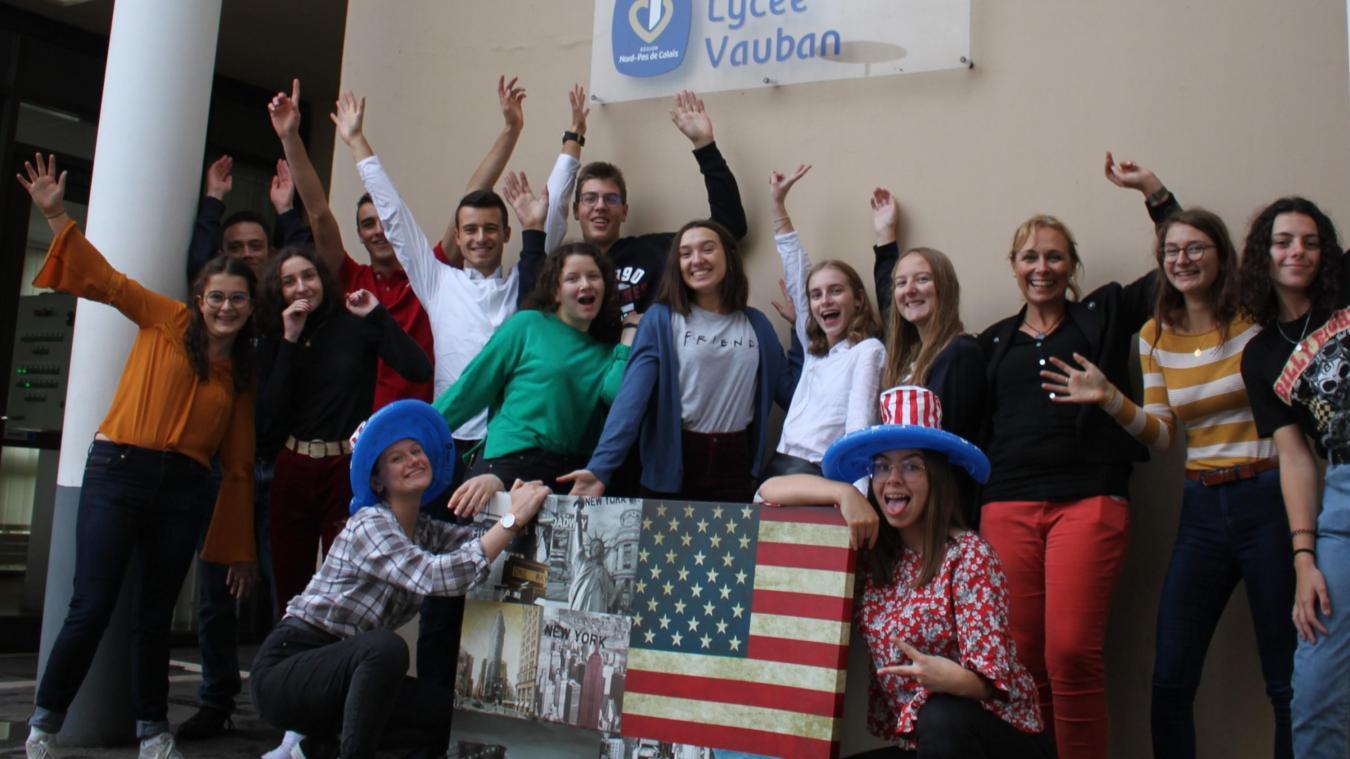 Dans quelques jours, les lycéens prendront la direction du Maryland, aux États-Unis.
