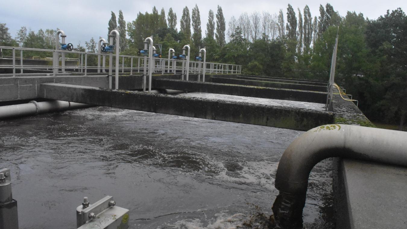 Le bassin d'aération constitue l'avant dernière étape du processus d'épuration de l'eau.