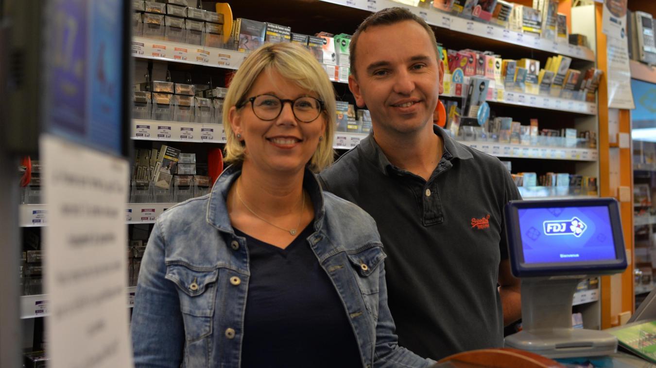 Eric et Christine ont revendu leurs fonds de commerce à de nouveaux propriétaires.