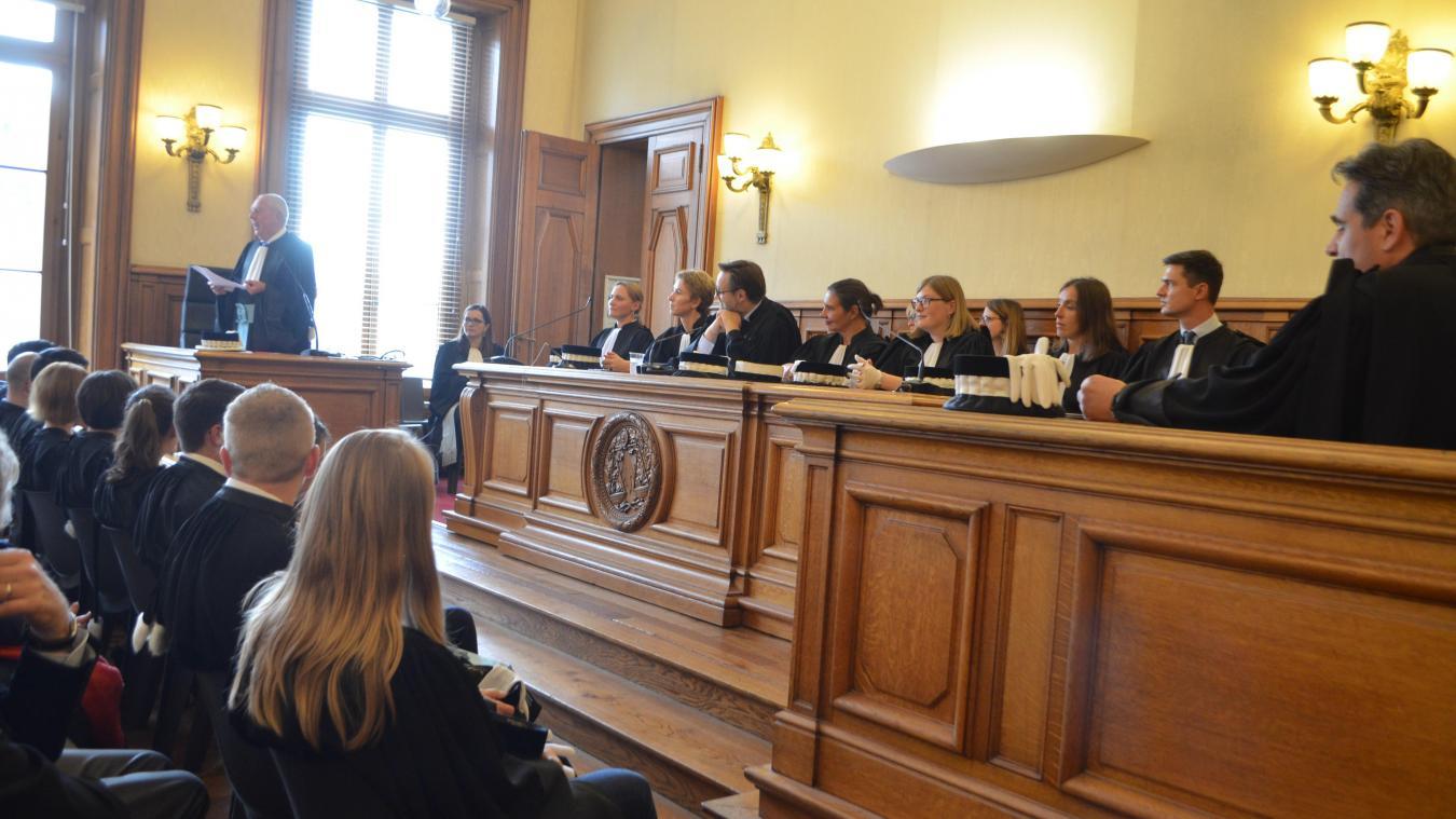 Le procureur André Lourdelle a fait état de la hausse des gardes à vue liées aux violences intrafamiliales.