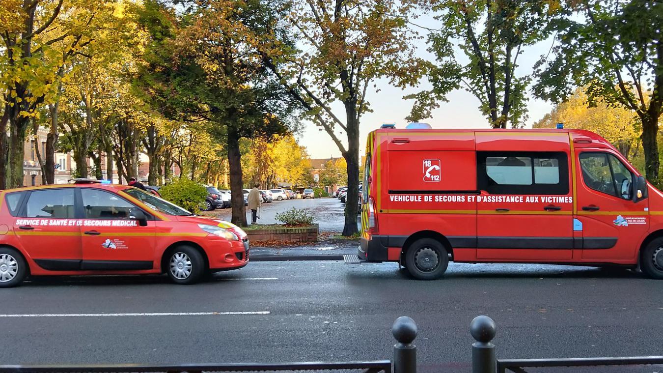 Béthune: deux femmes légèrement blessées dans un accident autour de la place Foch