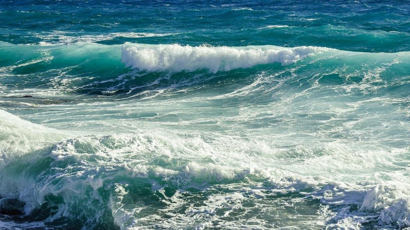 La mer sera agitée jusque vendredi 18 h.