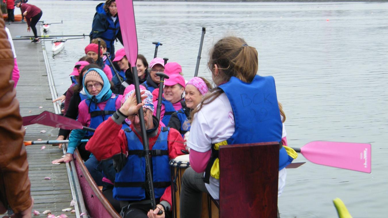 La randonnée contre le cancer du sein est co-organisée par les Dragon ladies.