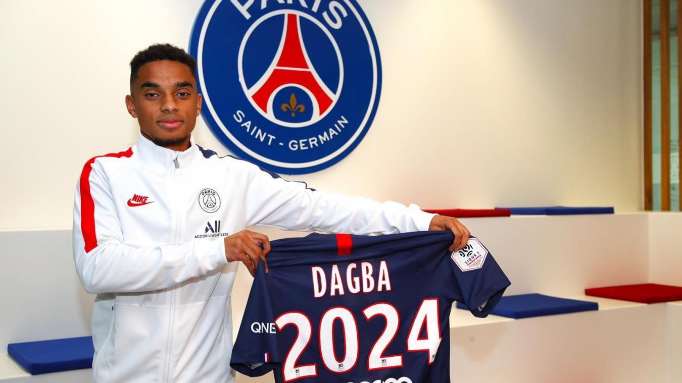 Formé à Isbergues, Colin Dagba prolonge au PSG