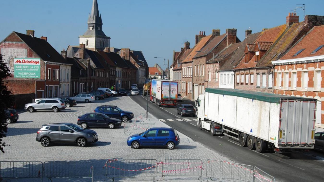 Le maire de Morbecque ne veut pas voir encore plus de camions traverser son village.