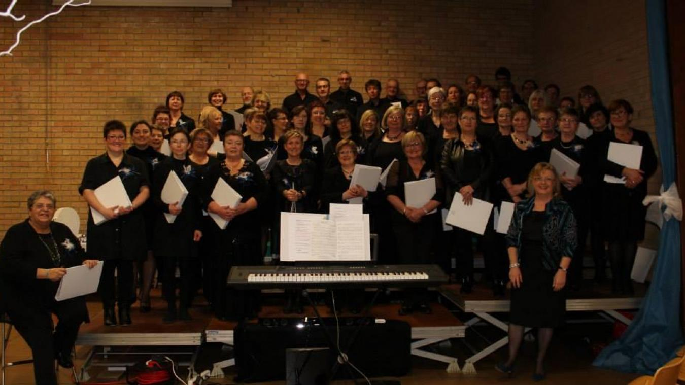 Lors de la soirée d'anniversaire, plus de 100 choristes se retrouveront sur scène.