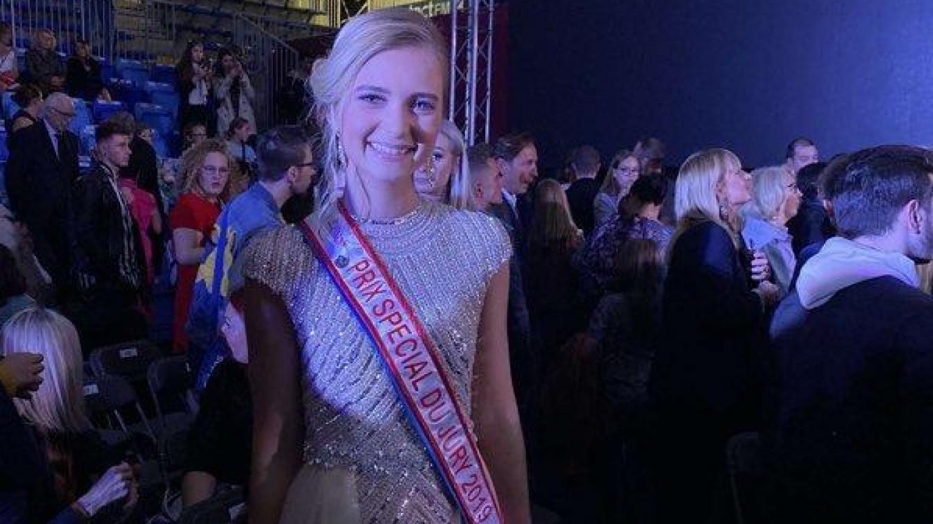 Laurine Dhainaut, Arnékoise et Miss Hazebrouck 2018, a obtenu le prix spécial du jury à Orchies, samedi 12 octobre, lors de l'élection Miss Nord-Pas-de-Calais.