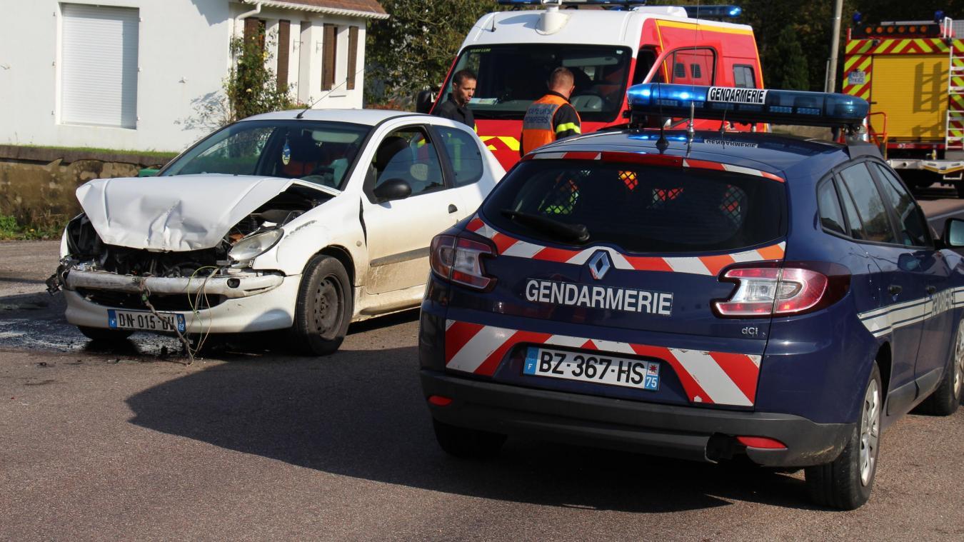 L'accident s'est produit ce lundi 14 octobre en début d'après-midi.