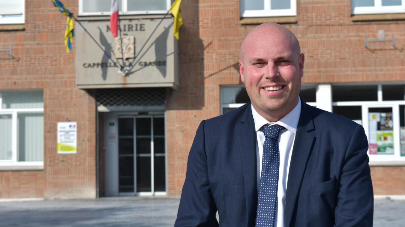 Julien Gokel a attendu l'annonce du maire sortant avant de lancer officiellement sa campagne électorale.