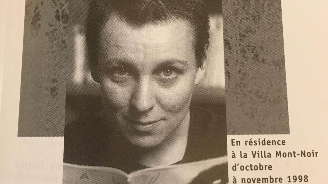 Olga Tokarczuk, auteure engagée, prix Nobel de Littérature, fut l'une des premières résidentes de la Villa Mont-Noir - Marguerite Yourcenar.