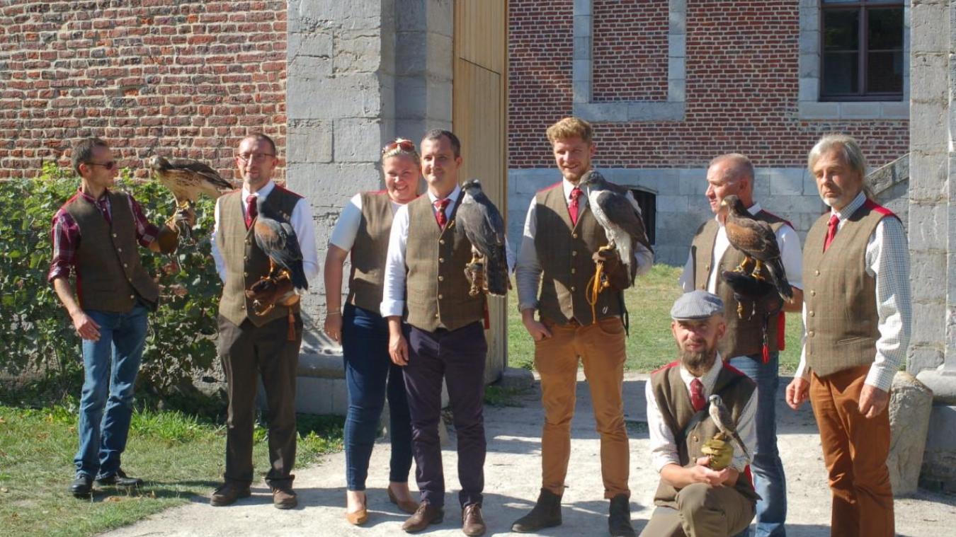 L'assemblée générale de l'équipage Cochet de Corbeaumont, récemment tenue à Saint-Omer, a été suivie d'une présentation de chasse au vol.