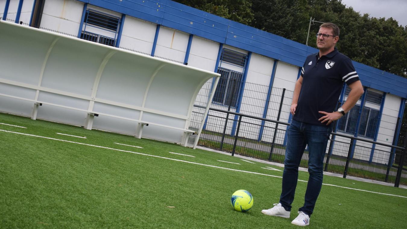 Benoît Drelon veut insuffler une nouvelle dynamique à ce club qu'il a découvert il y a trois ans, quand son fils s'y est inscrit.