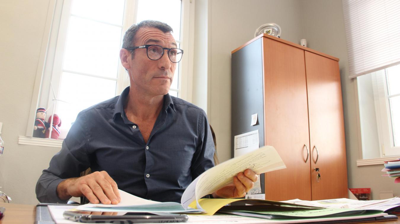 Lélio Pédrini, 51 ans, policier, se représente aux élections municipales.
