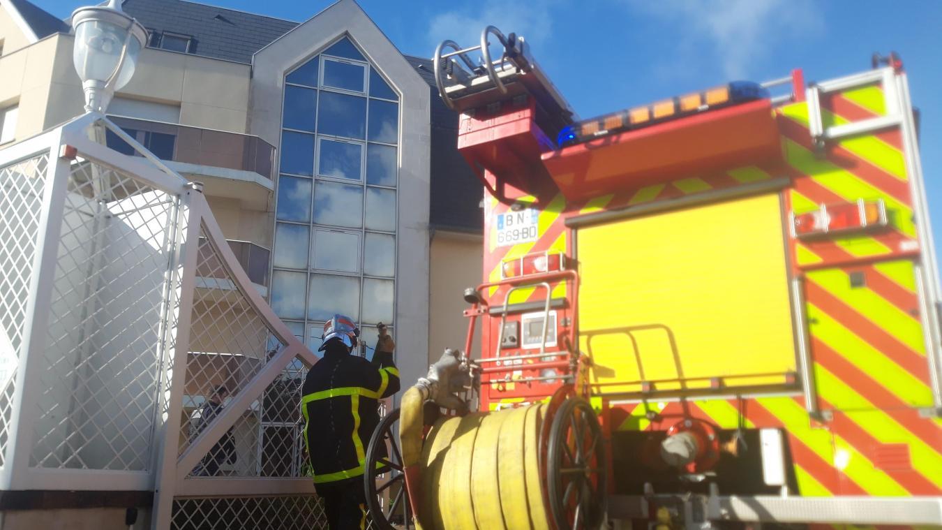 Saint-Martin : Début d'incendie dans une résidence route de Calais