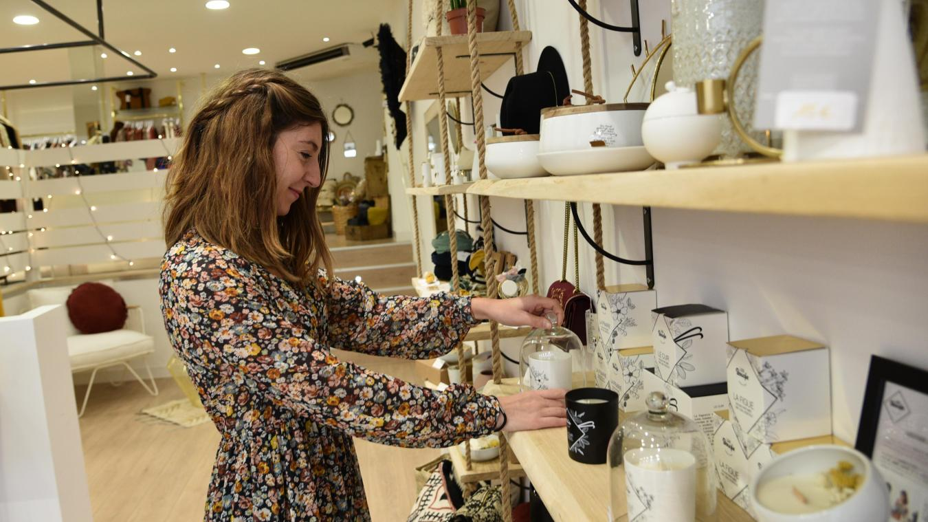 Juliette Gournay a ouvert sa boutique Hello Juliet il y a un mois.