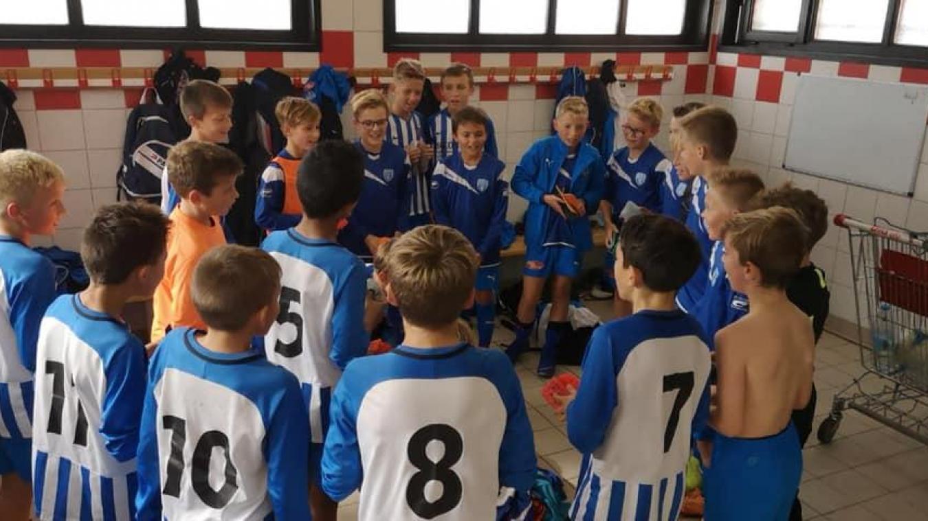 Le groupement entre l'USG et le SCGFP concerne les U6 au U18 des deux clubs.