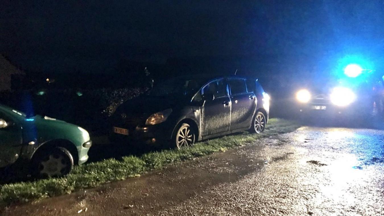 La collision s'est produite vers 18h30, alors que la luminosité commençait à baisser.